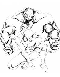 Stampa Disegno Di Spiderman Supereroe Da Colorare