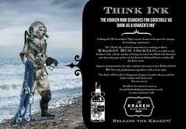 Tequila, triple sec, • choice of classic lemon, strawberry or mango • served frozen or non frozen. Kraken Rum Uk On Twitter Think Ink The Kraken Rum Cocktail Competition Http T Co G3rj7p4iw7