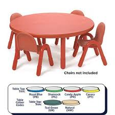 baseline round table small 12 height 36 diameter