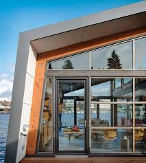 Small Picture Homes With A Waterfront View Dwell Floating Home Living Room