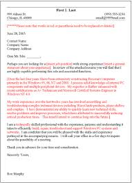 cover letter template general layout of cover letter