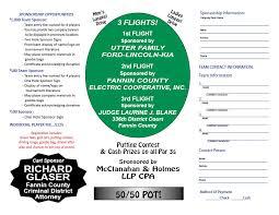 Golf Tournament   Bonham Rotary Club