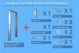 2 hour fire rated door