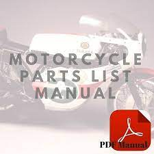 moto guzzi v50 iii parts catalog list