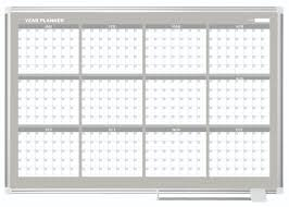 12 month mastervision yearly planner