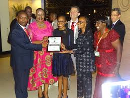 the rd arso continental standardisation essay winners recognised ms hope katanu mutie of is receiving her certificate from mr charles ongwae md kebs dr eve gadzikwa arso president mrs treasure thembisile