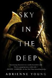 coverreveal sky in the deep by adrienne young