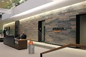 Lobby office Marble Amazon Seattle Office Has Large Welcoming Lobby Terramai Office Lobby Designs To Boost Work Performance Branding Terramai