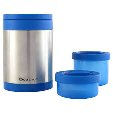 <b>Термос</b> из нержавеющей стали (с 2 контейнерами для продуктов ...