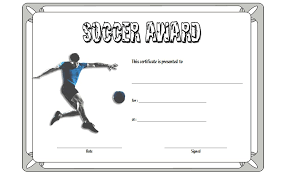 soccer awards templates soccer certificate template 1 the best template collection