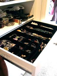 jewelry closet organizer use california closet jewelry organizer
