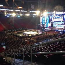 Wwe Seating Chart Toyota Center Section 111 Row 24 Seat 2 View For A Wwe Event Good View