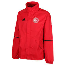 adidas rain jacket. adidas denmark rain jacket - red front e
