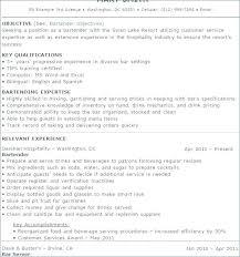Bartender Resume Template Classy Server Bartender Resume Sample Resume For Bartender Server Bartender