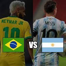 Brasil vs Argentina ...