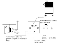 wiring diagram for air horn relay schematics and wiring diagrams bad boy wolo horn wiring diagram car