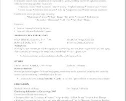 Esthetician Resume Objective Resume Esthetician Student Resume