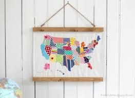 diy usa map wall hanging jaime costiglio