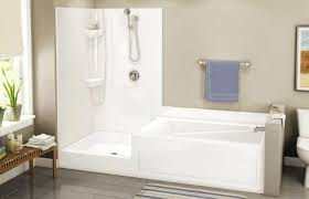 tub shower combo combos bathtub ideas for wonderful bathroom area design corner menards