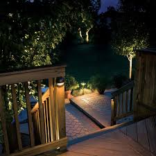 outside deck lighting. kichler landscape 15064bbr patio lights and lighting ideas outside deck a
