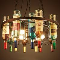 Used pendant lighting Vintage Wholesale Used Pendant Lights Online Retro Wine Bottle Led Pendant Chandeliers Lamps For Bar Club Dailycarepakinfo Wholesale Used Pendant Lights Buy Cheap Used Pendant Lights 2019