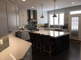 Kitchen Sitting Room Renovated Kitchen Living Room And Stairs Wedge Construction Inc