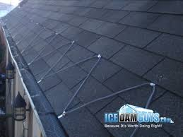 roof wires melt ice should you install heat cables to prevent ice dams ice dam guys