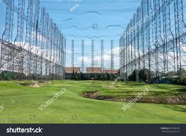 Driving Range Design Golf Course Driving Range Royalty Free Stock Image