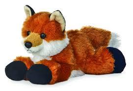 Amazon.com: Aurora Foxie Fox Mini Flopsie 8