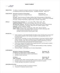 Computer Science Student Resume Noxdefense Com