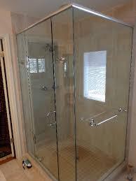 frameless euro shower doors with header