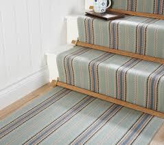 image of stair runner carpet installation