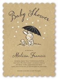 Bunny Shower 5x7 Baby Shower Invitation Cards Shutterfly