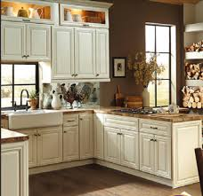 Ivory Kitchen Cabinets With White Plank Ceiling?