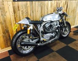 second hand harley davidson sportster 1200 cafe racer for sale in