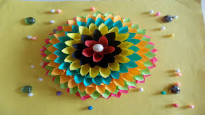 easy diy home decor ideas how to make wall decoration with paper summer crafts you