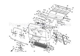 Countax a2050 lawn tractor 2001 2003 parts diagram