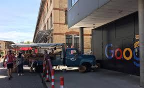 google zurich office address. Small Farmers Market Pulls Up To The Google Zurich Office Address
