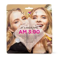 Купить <b>Интенсивно восстанавливающая маска</b>-вуаль MIXIT с ...