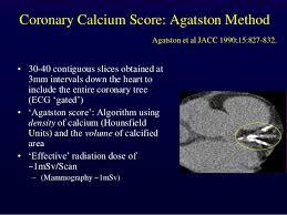 Agatston Score Chart Chris Ellis Calcium Scoring Cta