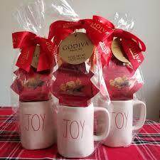 Buy top selling products like godinger hammered copper moscow mule mugs (set of 2) and libbey® kona glass coffee mug. Rae Dunn Joy Mugs Godiva Christmas Gift Set Depop