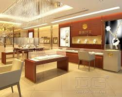 JE40 High End Jewellery Shop LayoutGuangzhou Dinggui Display Classy Jewelry Store Interior Design Plans