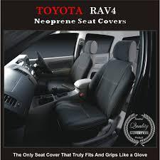 seat covers front pair suitable for toyota rav4 series xa20 xa30 xa40 premium neoprene automotive grade 100 waterproof