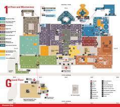 met museum map  my blog