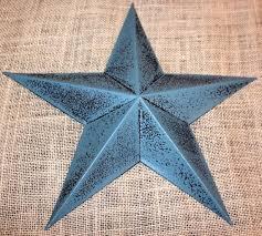 tin star wall decor set of 12 5