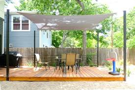 wood shade structure