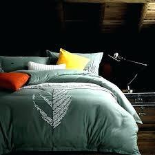 egyptian cotton duvet cover king cotton duvet leaf embroidered bedding sets queen king size cotton duvet