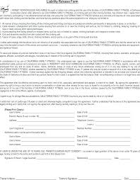 Video Release Template Sample Form Waiver