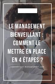 Le Management Bienveillant Est Une Condition Essentiel Pour Mettre
