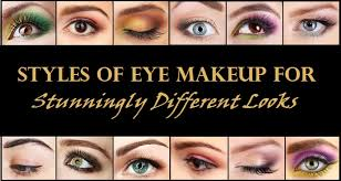 styles of eye makeup